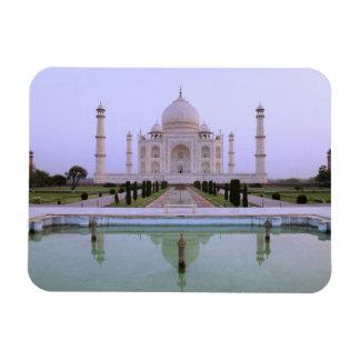 opinión de la madrugada del Taj Mahal reflejado ad Imán De Vinilo