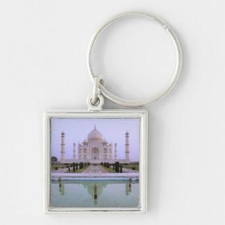 opinión de la madrugada del Taj Mahal reflejado ad Llaveros