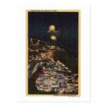 Opinión de la noche de la presa de Shasta Tarjeta Postal