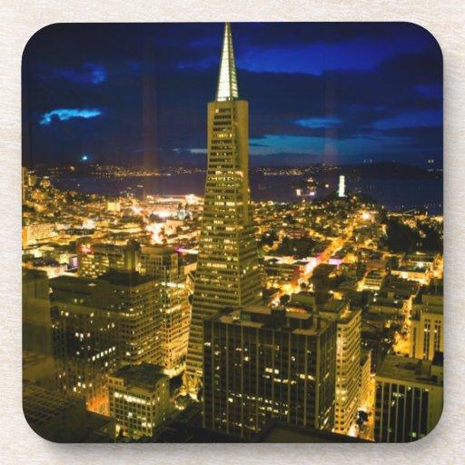 Opinión de la noche de San Francisco. Posavasos