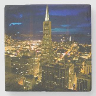 Opinión de la noche de San Francisco. Posavasos De Piedra