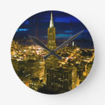 Opinión de la noche de San Francisco. Relojes De Pared