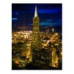 Opinión de la noche de San Francisco. Tarjetas Postales