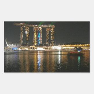 Opinión de la noche de Singapur Etiquetas