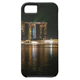 Opinión de la noche de Singapur iPhone 5 Case-Mate Fundas
