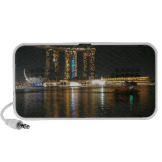 Opinión de la noche de Singapur Laptop Altavoces