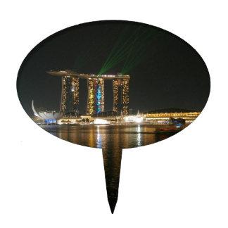 Opinión de la noche de Singapur Palillos De Tarta