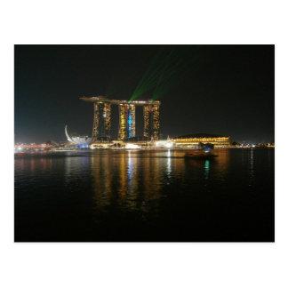 Opinión de la noche de Singapur Postal