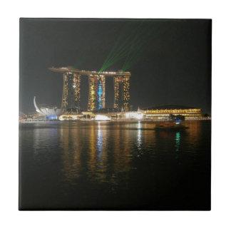 Opinión de la noche de Singapur Teja