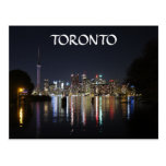 Opinión de la noche de Toronto de la isla de Toron Postal