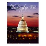 Opinión de la noche del capitolio de los E.E.U.U. Tarjetas Postales