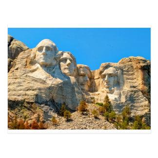 Opinión de la obra clásica del monte Rushmore Postal