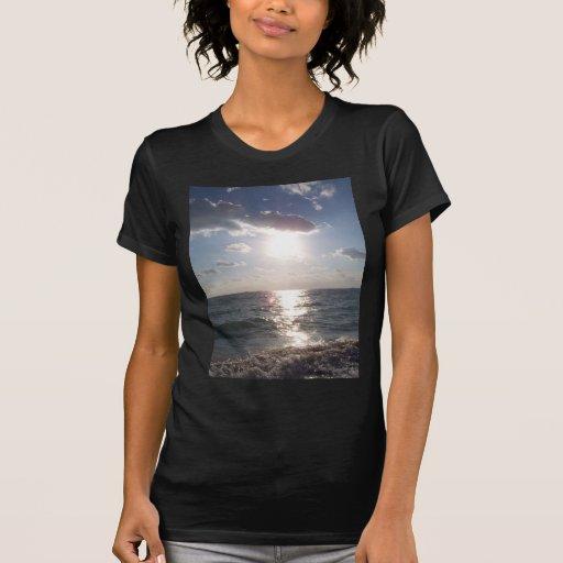 Opinión de la playa camisetas