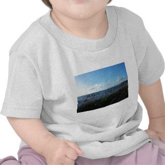 Opinión de la playa en Nápoles Camiseta