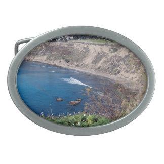 opinión de la playa hebillas cinturón ovales