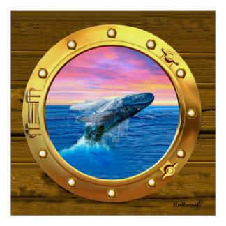 Opinión de la porta una ballena de violación perfect poster