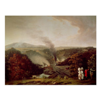 Opinión de la tarde Coalbrookdale 1777 Postales