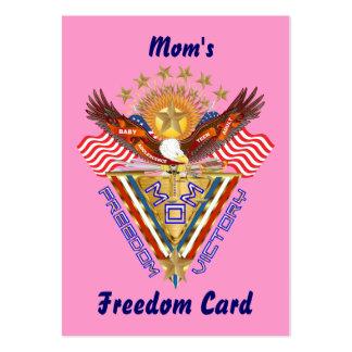 Opinión de la tarjeta del paso libre de la mamá so plantillas de tarjetas de visita