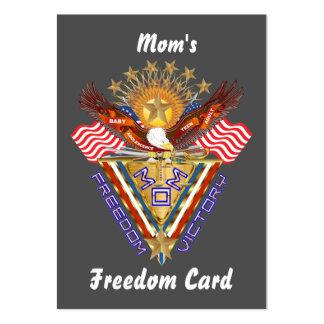 Opinión de la tarjeta del paso libre de la mamá so plantillas de tarjetas personales