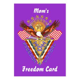 Opinión de la tarjeta del paso libre de la mamá so tarjetas de negocios