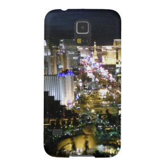 Opinión de la tira de Las Vegas Funda Para Galaxy S5