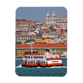 Opinión de Lisboa del río Tagus Iman Flexible