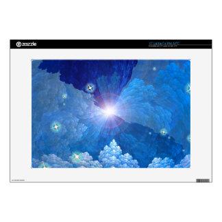 Opinión de los cielos calcomanía para 38,1cm portátil