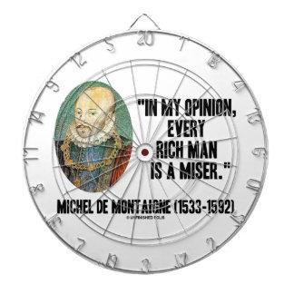 Opinión de Michel de Montaigne cada Miser del