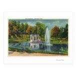 Opinión de monumento de guerra del parque del postal