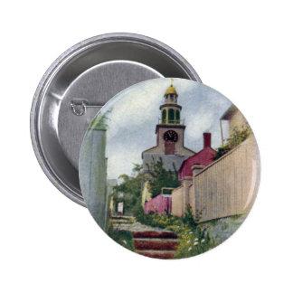 Opinión de Nantucket del vintage de la torre del Chapa Redonda 5 Cm
