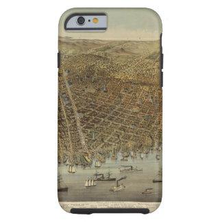 Opinión de ojo de pájaros de San Francisco Funda De iPhone 6 Tough