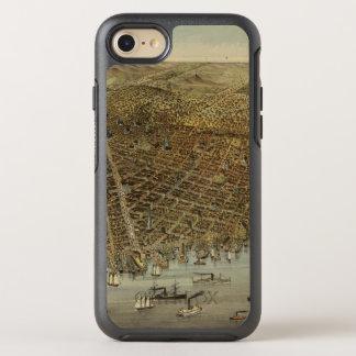 Opinión de ojo de pájaros de San Francisco Funda OtterBox Symmetry Para iPhone 7