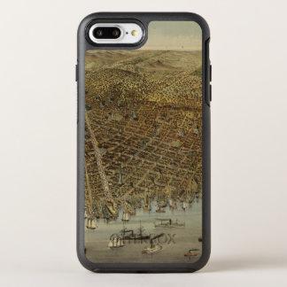 Opinión de ojo de pájaros de San Francisco Funda OtterBox Symmetry Para iPhone 7 Plus