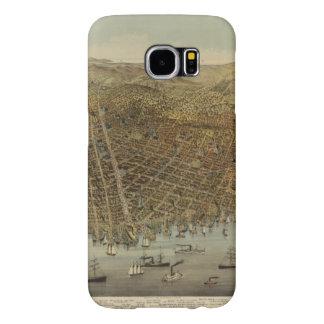 Opinión de ojo de pájaros de San Francisco Fundas Samsung Galaxy S6