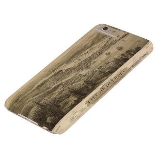 Opinión de Olympia, Washington (1879) de Birdseye Funda Para iPhone 6 Plus Barely There
