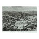 Opinión de perspectiva de la ciudad de Chaux, C. Tarjeta Postal