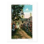 Opinión de piedra del callejón del reloj del sur postales