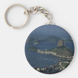 Opinión de Río de Janeiro Llavero Redondo Tipo Pin