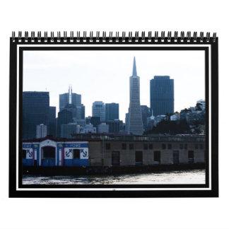 Opinión de San Francisco de la bahía Calendario