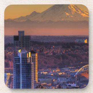Opinión de Seattle céntrica, fútbol del paisaje ur Posavaso