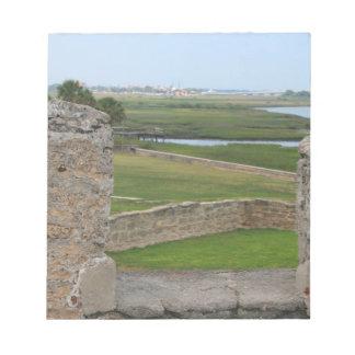 Opinión de St Augustine del castillo Bloc De Notas