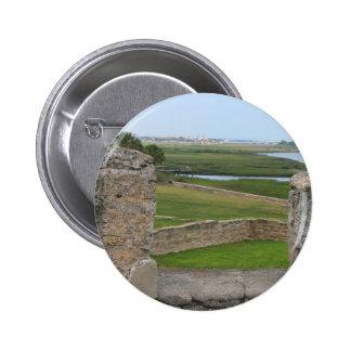 Opinión de St Augustine del castillo Pin Redondo De 2 Pulgadas