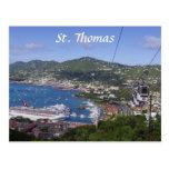 Opinión de St Thomas Tarjeta Postal