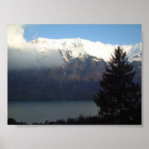 Opinión de Suiza Póster