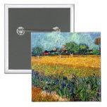 Opinión de Van Gogh de Arles con el botón de los i