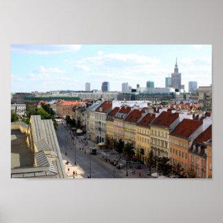 Opinión de Varsovia Posters