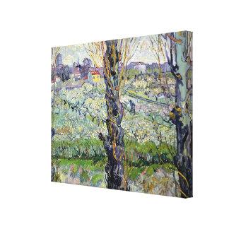 Opinión de Vincent van Gogh el | Arles, 1889 Lona Envuelta Para Galerías