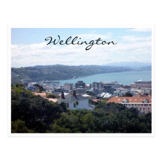 opinión de Wellington del puerto Tarjetas Postales