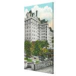 Opinión del acercamiento del capitolio del edifici impresión en lienzo