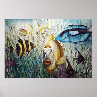 Opinión del acuario posters